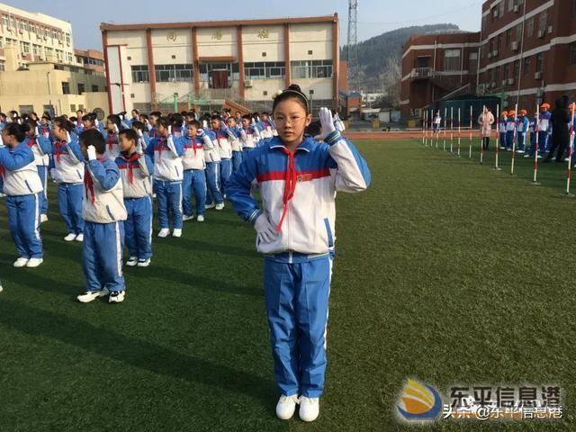律动的青春最美丽——东原实验学校举行2019年韵律操比赛